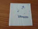 """Serviette Papier """"DISNEYLAND PARIS"""" 11,3x11,7cm Pliée - Reclameservetten"""