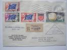 67 STRASBOURG   Parlement Européen - Superbe Lettre En Recommandé   Du 20 Novembre 1962 - Service