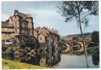 19134 Rouergue, Espalion, Vieux Palais Pont Rouge. 4 Théojac - France