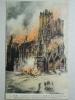 Reims, La Cathédrale Incendiée Par Les Allemands Le 19 Septembre 1914 - Reims