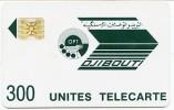 @+ Djibouti - OPT 300U - SC4 OB - Série N° 8719 Impact + Couronne évidée RARE - Djibouti