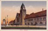 Dép. 57 - METZ. - Bahnhof. Kunstverlagsanstalt Bruno Hansmann, Kassel. Nr 6917 - Metz