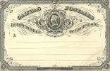GUATEMALA 1875 1/4r POSTCARD, H & G 1, UNUSED. - Guatemala
