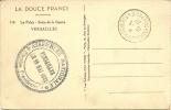 FRANCE 1932 PPC, VIEW OF VERSAILLES - SALON DE LA GUERRE, UNADDRESSED, CANCELLED WITH VERSAILLES-CONGRES-TELEPH ONE CDS - Postzegels
