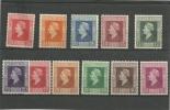 NETHERLANDS ISSUE FINE MINT Wilhelmina 7,5 Cent - 50 Cent.  11 Stamps - Zonder Classificatie