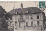 Santé - Médecine - Hôpital Militaire De Langres - Publicité Michelin - Cachet Langres 1910 - Santé