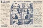Santé - Médecine -  Docteur - Das Kranke Mädchen - Fillette Maladie - Santé
