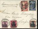 Lettre De 1915  Petit Format   JOLIE  Cote 85E - [OC1/25] Gouv. Gén.