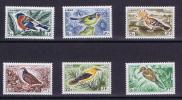 Libanon: 1965 Michel 894 - 899  Neuf **/MNH, Birds - Altri