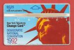 United States - NL-04a Democratic National Convention NYNEX L&G Card, %10.058ex, CN 208A,1992, Mint - United States