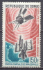 Congo Poste Aérienne YT N°39 Station Spatiale De Brazzaville Neuf ** - Congo - Brazzaville