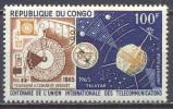 Congo Poste Aérienne YT N°28 Union Internationale Des Télécommunications Neuf ** - Congo - Brazzaville