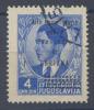 1941 JUGOSLAVIA 4 D. ALTO COMMISSARIATO PER LA PROVINCIA DI LUBIANA USATO OTTIMA QUALITÀ SOVRASTAMPA NON GARANTITA (F737 - 9. Occupazione 2a Guerra (Italia)