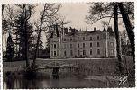 CPSM 49 BAUGE - Kastelo De Gresillon - Esperantista Kulturdomo (Chateau) - France