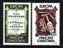Andorre 339 / 40 Europa / Année Européenne De La Musique - Musique