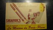 11ZE - �criture MAison de Porte plume Charleroi Sheaffer's publicit�