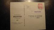 11ZE - Enveloppe Publicitaire Affranchie Etablissement Phapover Charleroi - Buvards, Protège-cahiers Illustrés