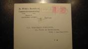 11ZE - enveloppe publicitaire affranchie marcophilie antiteringzegels De Wilde's handels en commissievennootschap