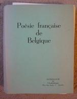 Poésie Française De Belgique - Poésie