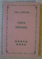Verte Mémoire - Paul Kervan - Autres