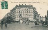 PARIS - Place Maubert Et Statue D'Etienne Dolet (animation) - Non Classés