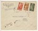 LIBANON - 1937 , R-Brief Aus BEYROUTH Nach BREMEN - Big Letter, Dispatch: 3,70 EURO - Libanon