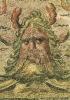 MUSEE ARCHEOLOGIQUE DE SFAX. Détail D'une Mosaique : Tête D'Océan, IIIe S. Pa. J.C. (Thina). - Tunisia
