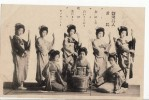 3388 JAPON JAPAN GIRLS GEISHA - Costumes