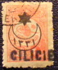 1919 Cilicie 20 Piastres SCHE Sché YT 2 Oblitéré Côte Dallay 15,00 € - Zonder Classificatie