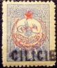 1919 Cilicie 1 Piastre    Sché YT 9 Neuf * Côte Dallay 11,00 € Cachet Au Dos - Zonder Classificatie