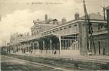 Feignies - La Gare Intérieure- 1923 ( Voir Verso ) - Feignies