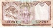 BILLETE DE NEPAL DE 10 RUPEES  (BANKNOTE) - Nepal