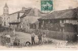 CPA 24 VERGT DORDOGNE VILLAGE ANIME ANNEES 1900/10 Vue Peu Courante - Autres Communes
