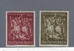 REICH  GERMANIA MNH**  GERMANY1943  GOLDSCHMIEDEKUNST Mi.860/61 - Alemania