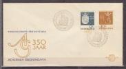 Nederland, 1964, 350 Years University Of Groningen, E64, FDC - Wetenschappen