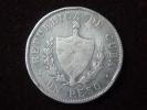 Cuba 1 Peso 1933  26,7295g Plata Silver 0,900 Patria Y Libertad Muy Buena Conservación. Ver Fotos. - Cuba