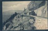 Les Rapillas De Baulmes, Chemin De Fer Yverdon-Ste.Croix, Train, Locomotive Vapeur, Eisenbahn, - VD Vaud