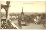 Erstein. Vue Sur Le Village D'Erstein Depuis L' église évangélique . - Francia