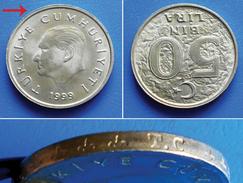 TURKEY 50000 Lire (50 Bin Lira) 1999 - KEMAL ATATURK - Turquie