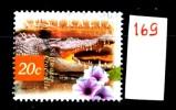 Francobollo Singolo - AUSTRALIA -COCCODRILLO  - Saltwater Crocodile - Viaggiato -  Traveled . - Marine Life
