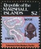 Wotje And Erikub Island, Map, Terrestrial Globe, Navigational Tool, Cartography MNH Marshall Islands - Astronomie