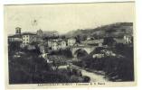 A918-I)  ANCONA -SASSOFERRATO BORGO - PANORAMA DI S.MARIA - VIAGGIATA 1934 - Ancona