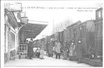 43 - Le Puy - Quai De La Gare - Départ Du Train De St Etienne - Stazioni Con Treni