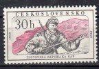 """TCHECOSLOVAQUIE - 1959:  """"40e Anniv. De La République Des Soviets De Slovaquie"""" -N° 1034* - Czechoslovakia"""