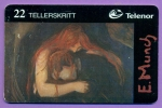 "Nor  Peinture  De  E.  Munch   "" Vampires ""    10/98    T  B  E - Norvège"