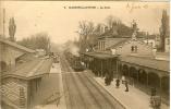 MAISONS LAFFITTE - LA GARE En 1903 - Gares - Avec Trains