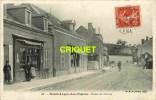 Cpa 58 St Léger Des Vignes, Route De Nevers, Animation Devant épicerie, Cycliste, Vaches Dans La Rue... éd B F 82 - Altri Comuni