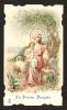 IMAGE PIEUSE * HOLY CARD * La Divine Bergère - Dos Vierge - Images Religieuses