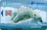 SVALBARD - N-140 Isbjorn Arctic Bear, 17.000ex, 1999, Used