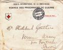 MARCOPHILIE,LETTRE,CROIX ROUGE 1914,AGENCE DES PRISONNIERS DE GUERRE,cachet Genève,savoie,avis De Blessure,ministere - Postmark Collection (Covers)